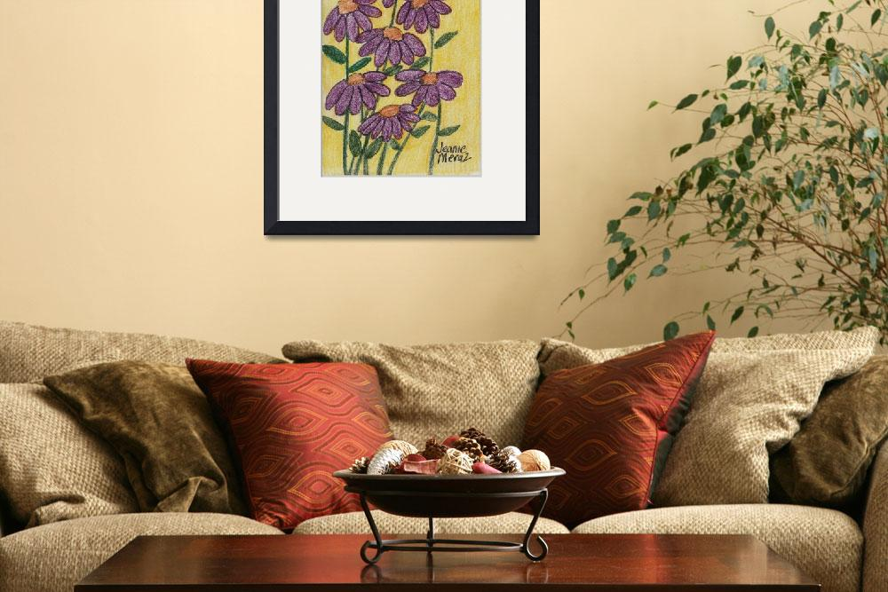 """Coneflowers in Purple&quot  (2010) by jmeraz"