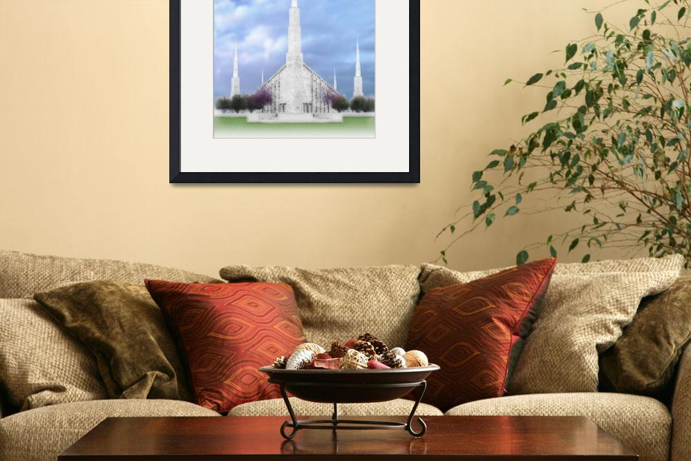 """Boise Temple&quot  by TerrySpringer"