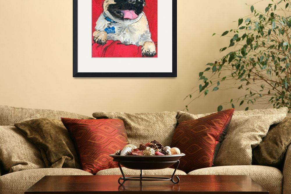 """Happy Pug&quot  (2006) by mistypoe"