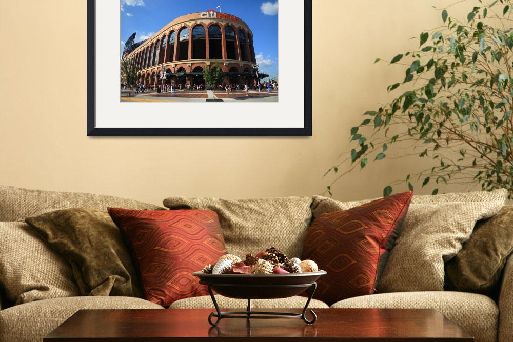"""Citi Field - New York Mets&quot  (2011) by Ffooter"