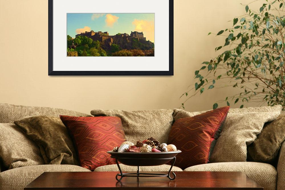 """Edinbourgh Castle  Scotland&quot  (2011) by artstoreroom"