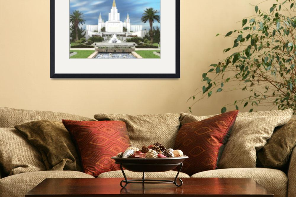 """Oakland Temple&quot  by TerrySpringer"
