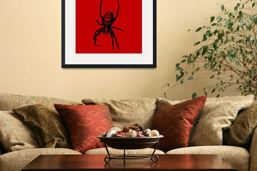 """Spider - Black & Red 2&quot  (2011) by ChainsawNecktie"