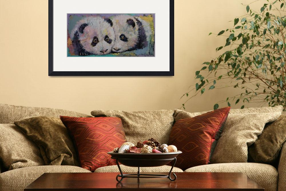 """Baby Pandas&quot  by creese"