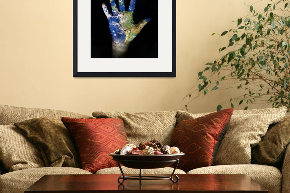 """world in our hand&quot  (2008) by dabobabo"