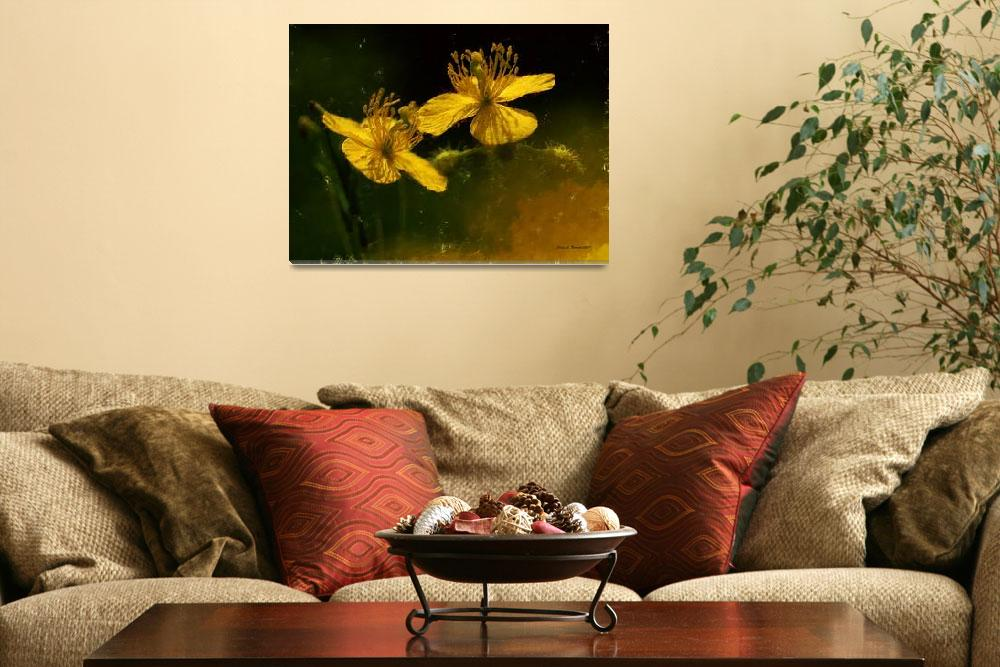 """Yellow Flowers&quot  (2012) by artstoreroom"