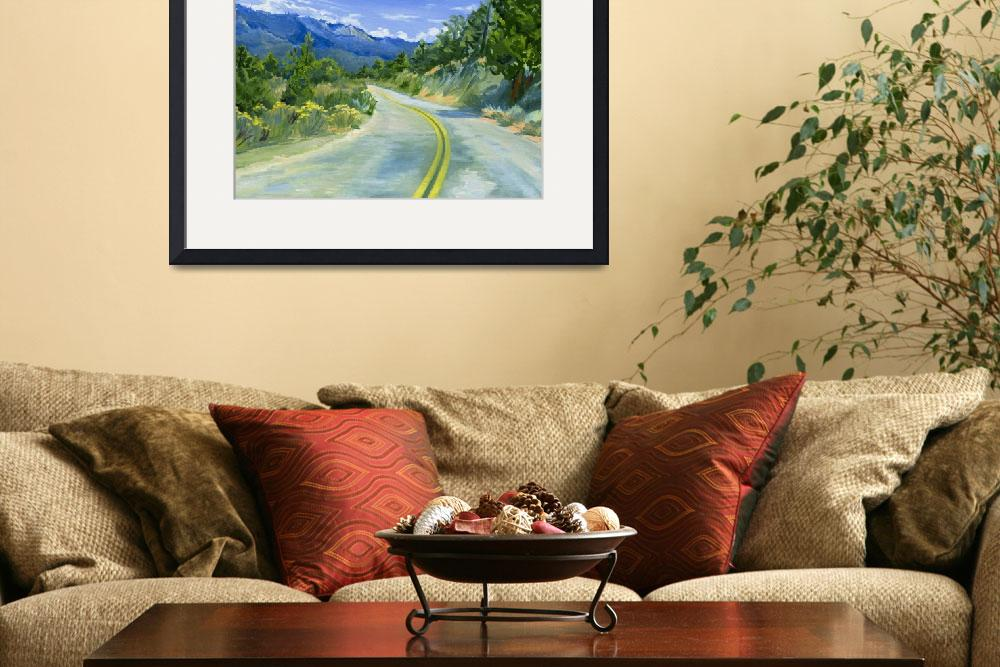 """Road To Kennedy Meadows&quot  (2008) by KeatingArt"