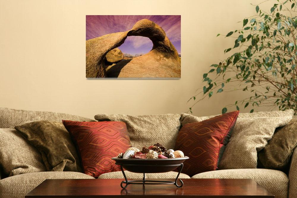 """Alabama Hills Arch&quot  by pbk"