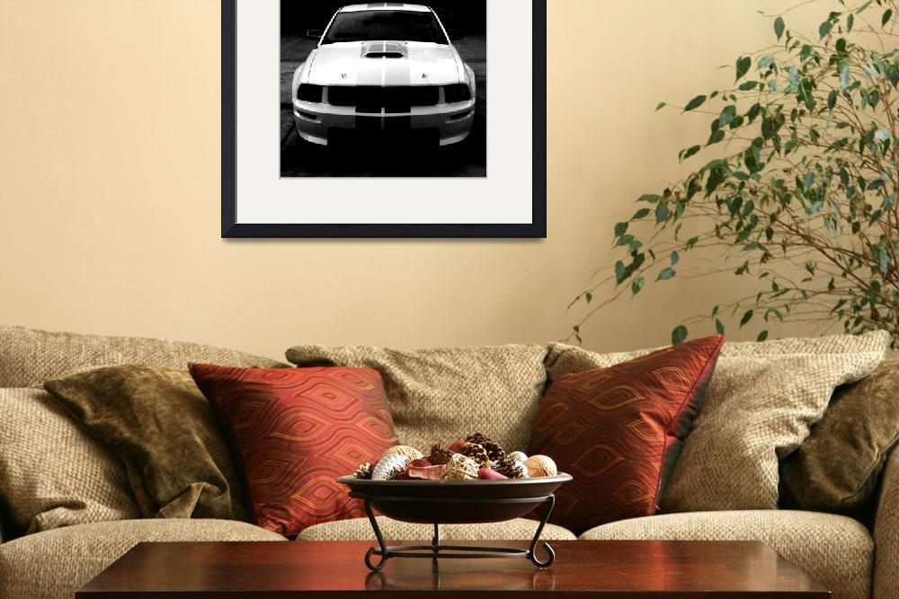 """Shelby Mustang GT&quot  (2008) by tiffanysuzanne"