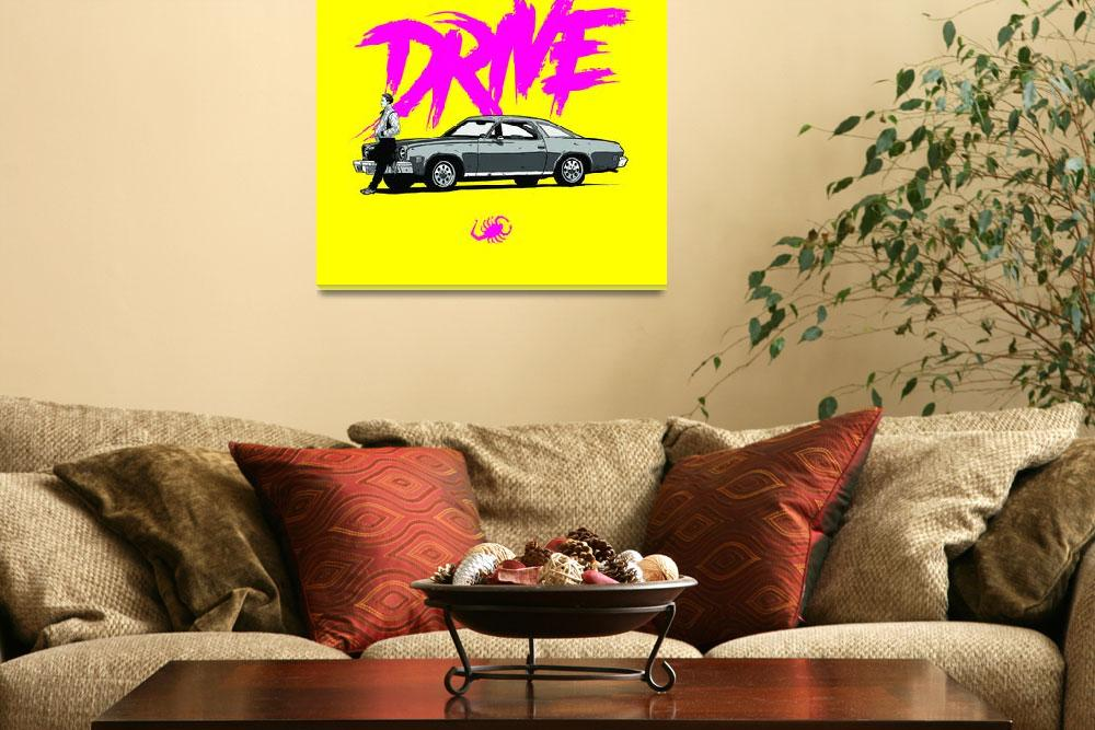 """DRIVE (Yellow ed.)&quot  (2013) by federicomancosu"