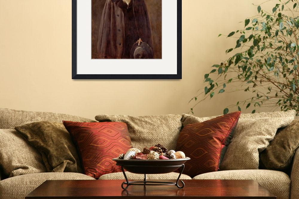 """Portrait of Charles Darwin&quot  by fineartmasters"