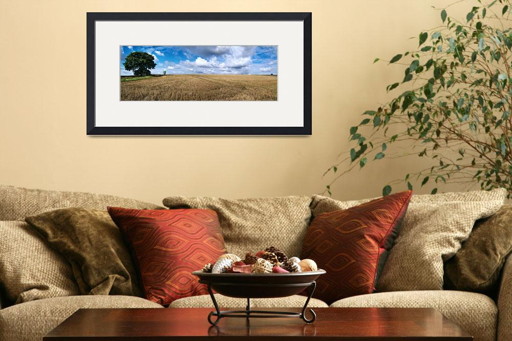 """Hundon Panoramic&quot  (2010) by georgefairbairnphotograph"