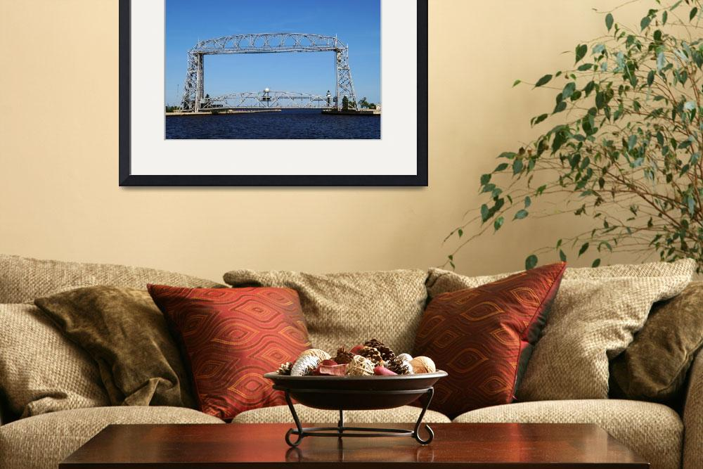"""Duluth MN Aerial Lift Bridge&quot  by cameragal"