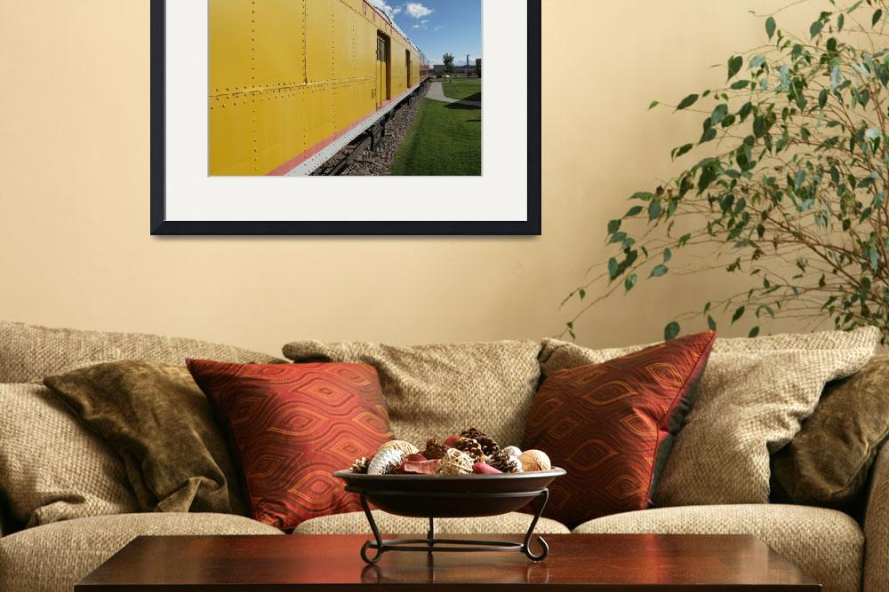 """Railroad Train&quot  (2009) by Ffooter"