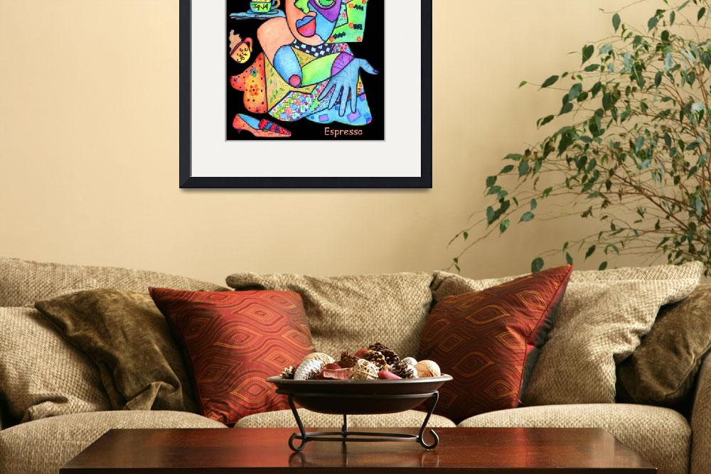 """Java Woman&quot  by ArtPrints"