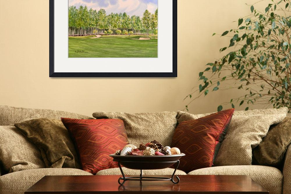 """Pinehurst Golf Course 17th Green Nikon 610&quot  (2012) by billholkham"