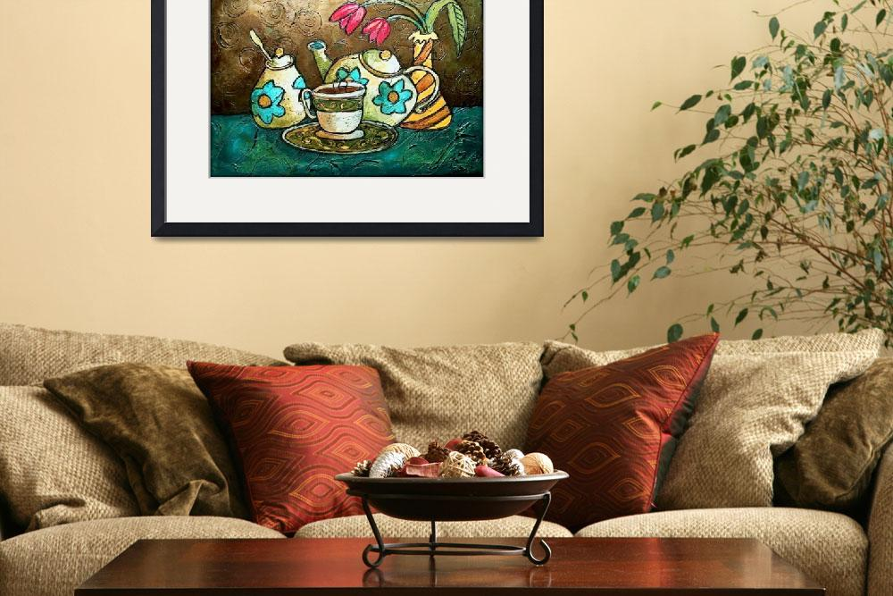 """Tea and Tulips&quot  (2011) by solamar7"