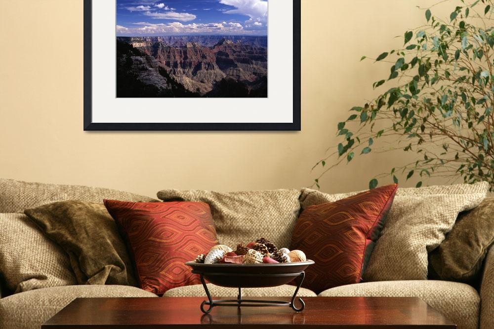 """Bright Angel Point view of  the Canyon&quot  (2001) by TOMSHEA"