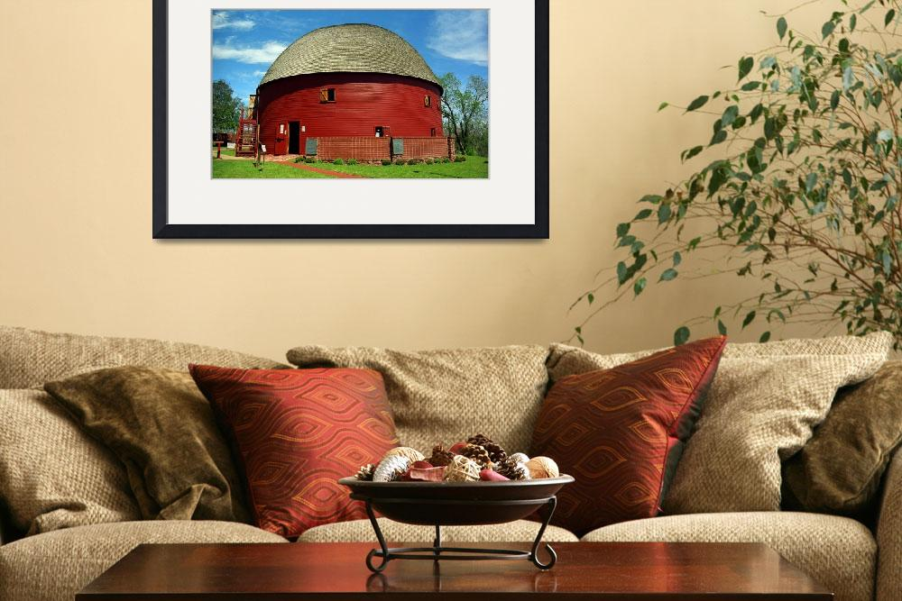 """Route 66 - Round Barn&quot  (2007) by Ffooter"
