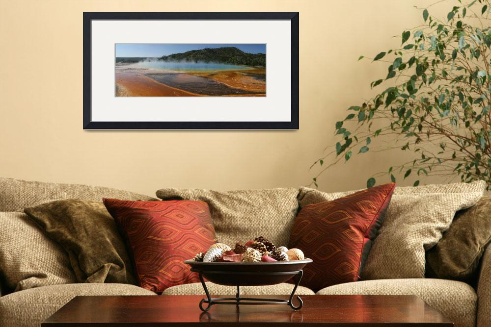 """Grand Prismatic Spring&quot  (2008) by jaunderkoffler"