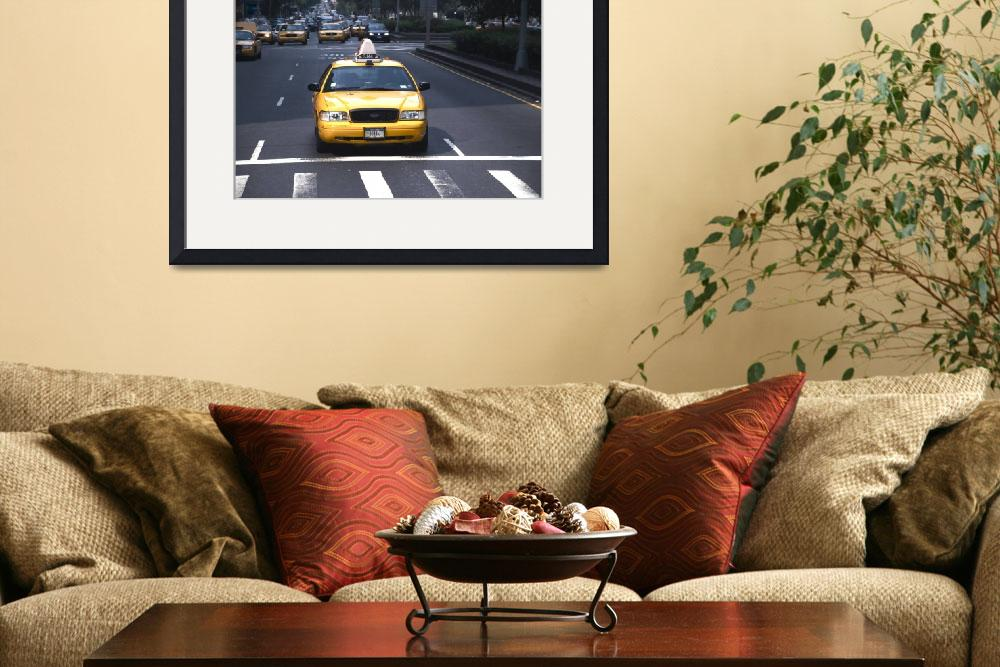 """Taxi at 57th and Park&quot  by Triborough"