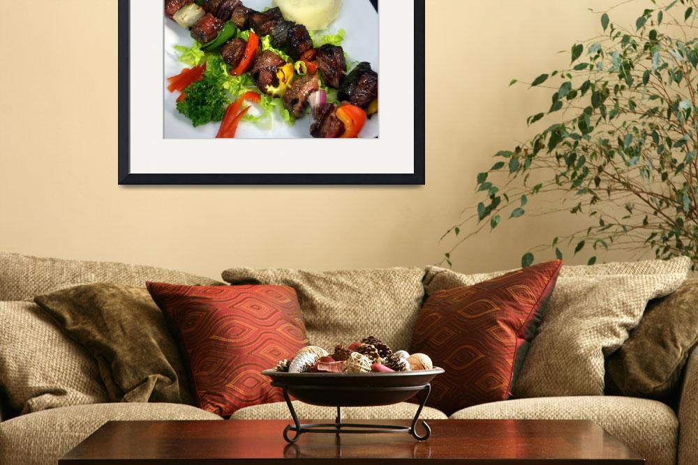 """beef kabob&quot  (2008) by ecazphoto"