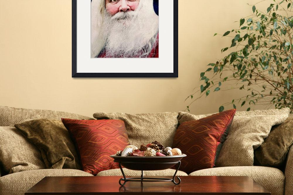 """Father Christmas&quot  (2009) by cliftondesigns"