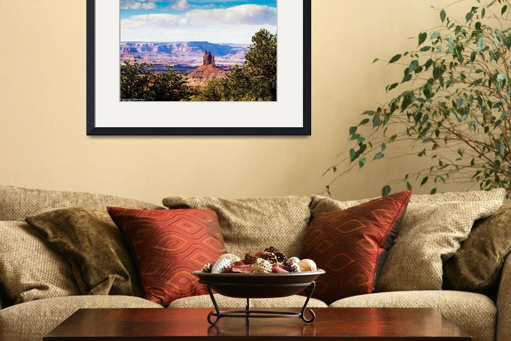 """Canyonland National Park View 2&quot  (2012) by pixelcene"