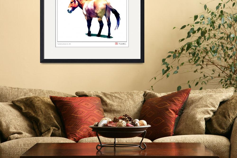 """Przewalski Horse Number One&quot  (2007) by MBush1us"