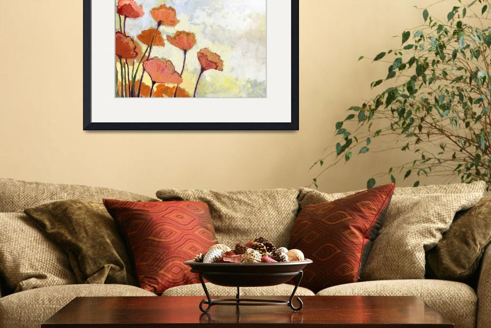 """Poppies in Cream&quot  (2011) by JENLO"
