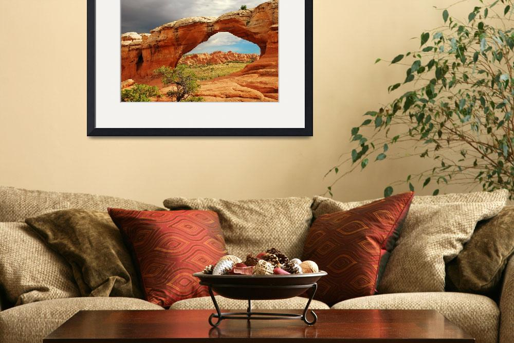 """Broken Arch Arches National Park&quot  by houstonryan"