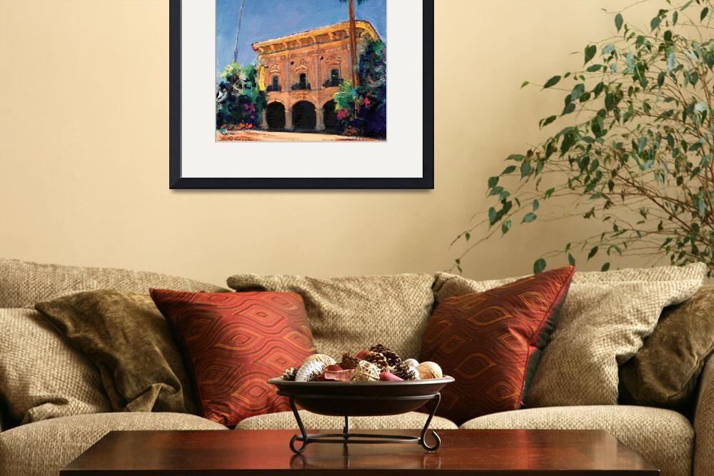 """Casa de Balboa painted by RD Riccoboni&quot  (2008) by RDRiccoboni"