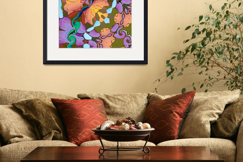 """Floral Fantasy 3&quot  (2009) by Chicagoartist1"