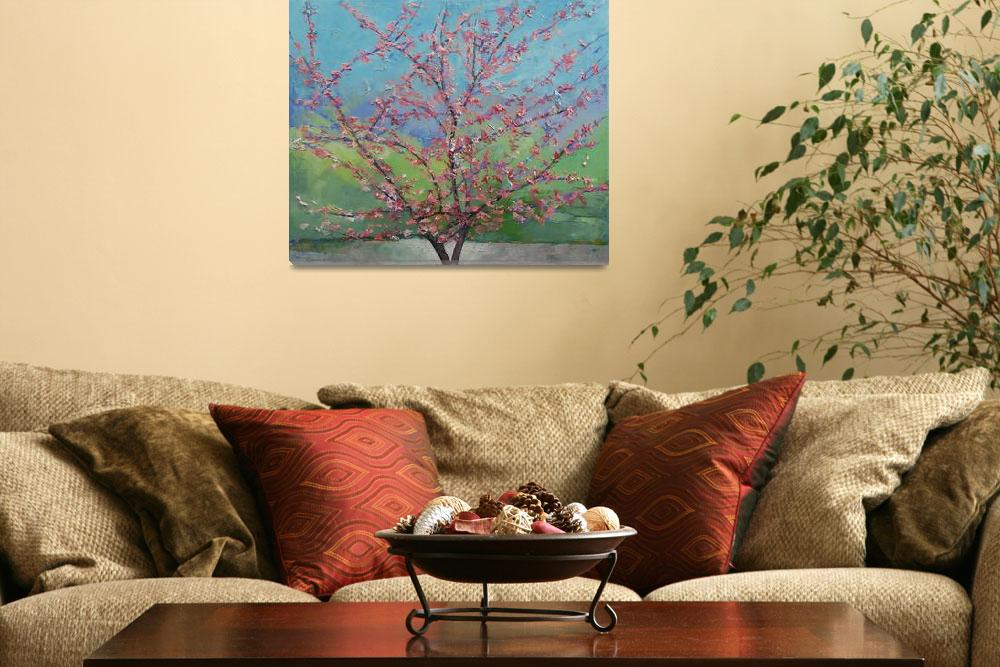 """Eastern Redbud Tree&quot  by creese"