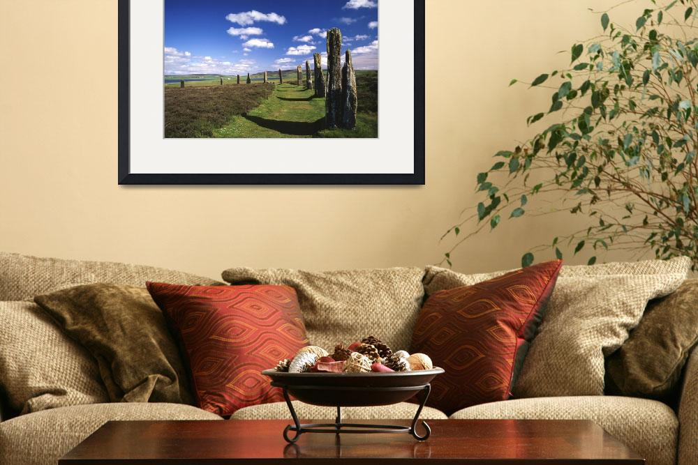 """Ring of Brodgar, Orkney Islands, Scotland&quot  by upliftingphotos"