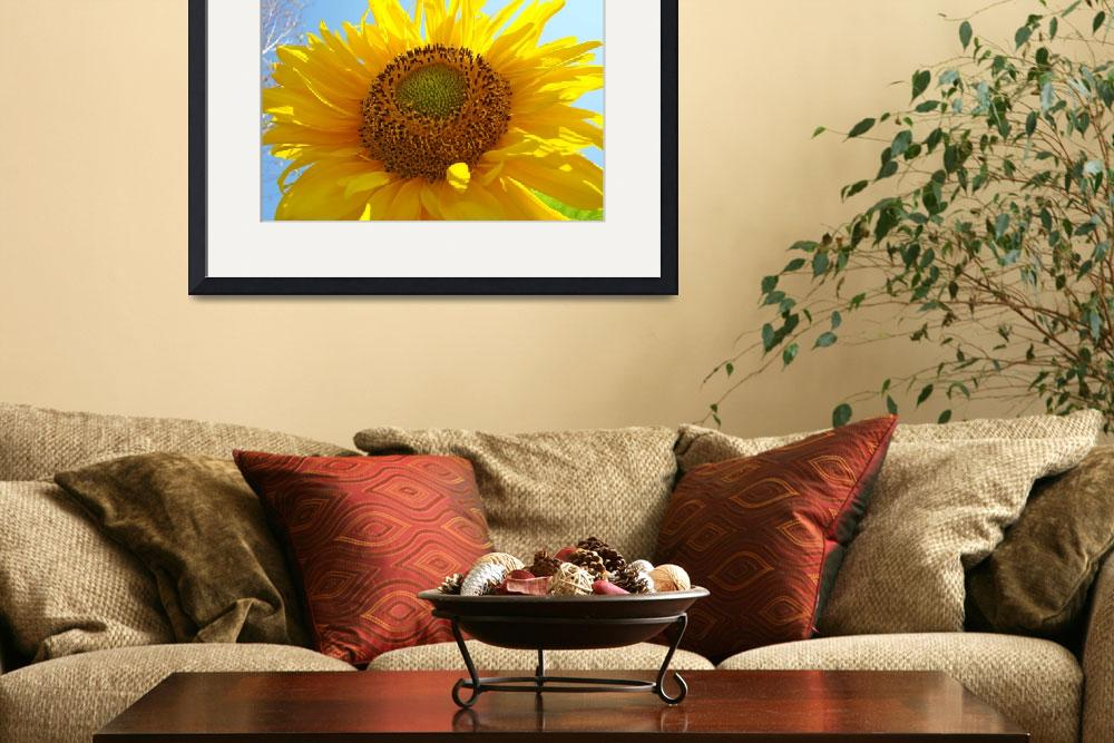 """Christmas Gift Gallery SUNFLOWER Artwork&quot  (2009) by BasleeTroutman"