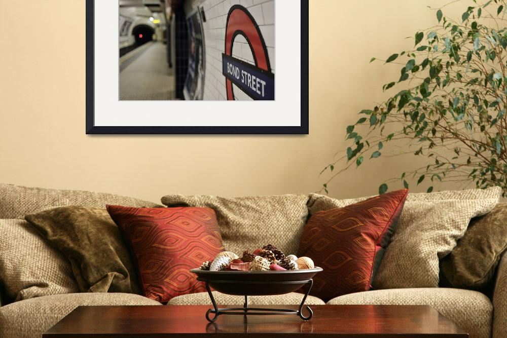 """London Underground - Bond Street&quot  (2009) by kenlawrence"