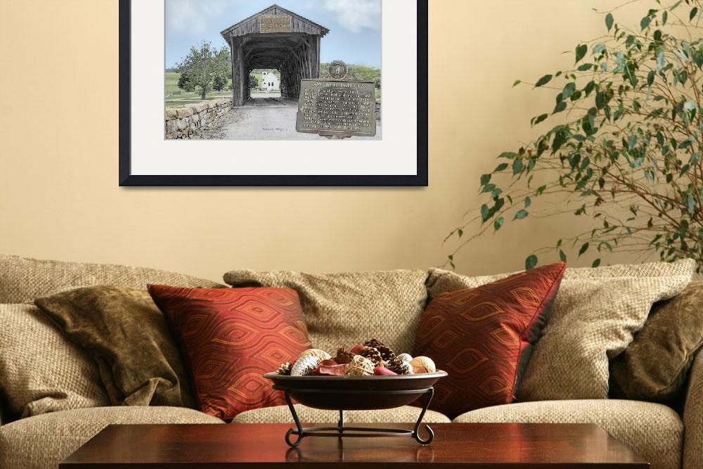 """Goddard Covered Bridge 12x18 3 23 2011&quot  by cre8ivepix"