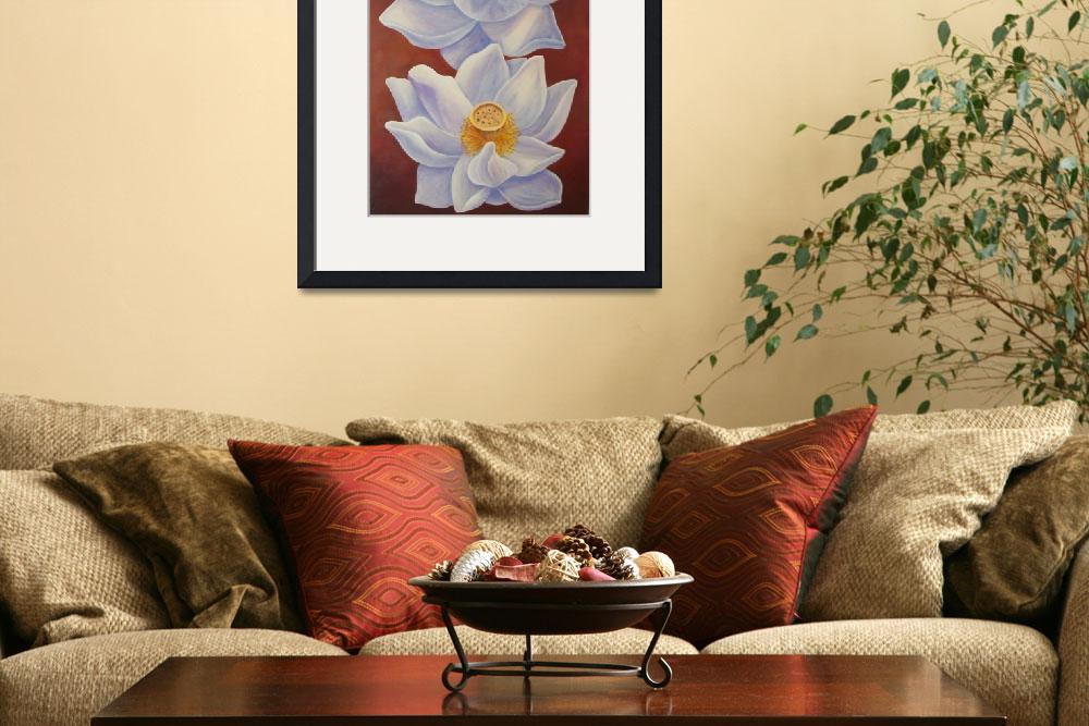 """Two White Lotus&quot  (2010) by arteest"