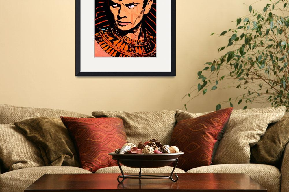 """Yul Brynner-Ten Commandments&quot  (2016) by thegriffinpassant"