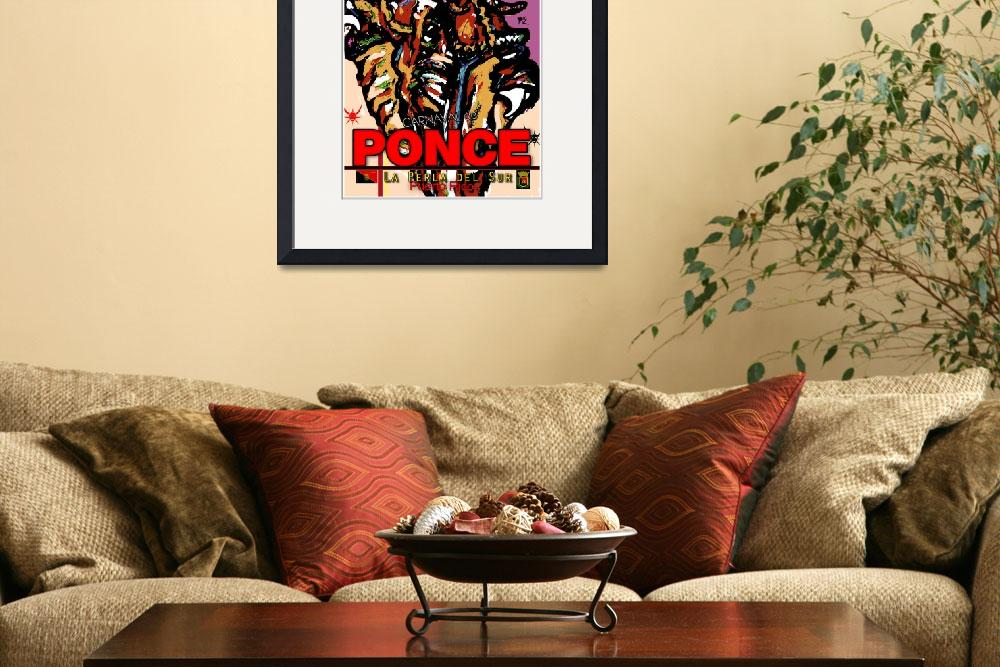"""Ponce Carnaval poster&quot  (2013) by jruiz"