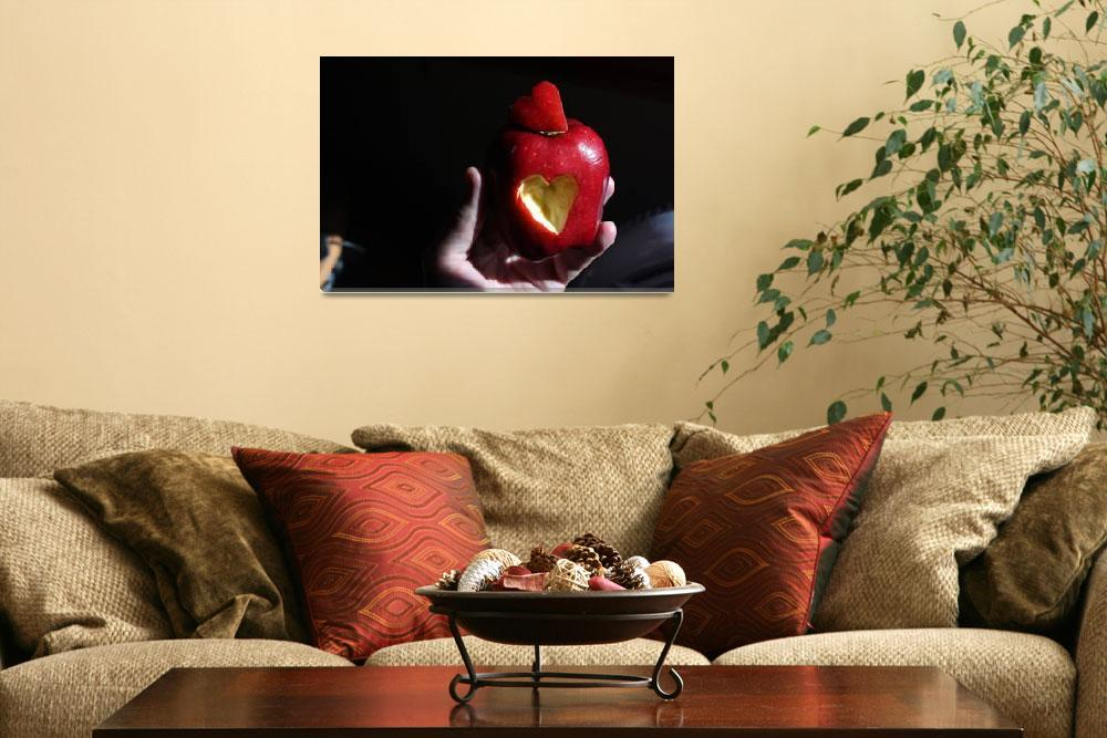 """Apple of my eye 3&quot  (2010) by Albertphoto"
