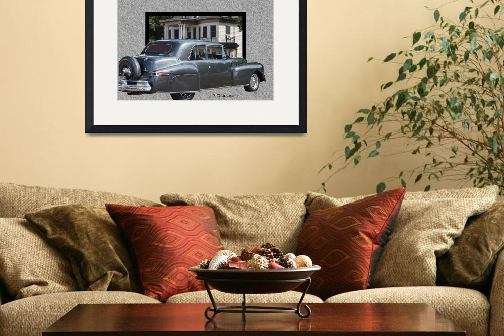 """1947 Lincoln Continental Coupe&quot  (2011) by bettynorthcutt"