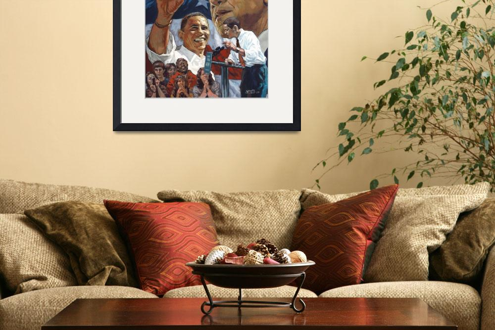 """Obama&quot  (2009) by kennethcalvert"