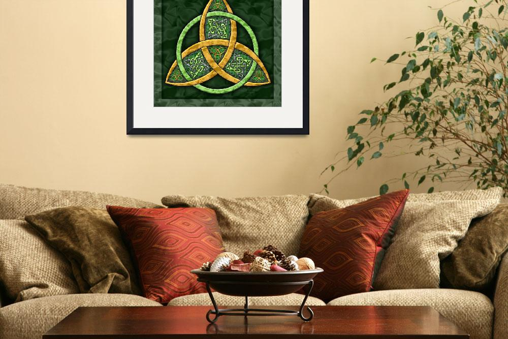 """Celtic Trinity Knot&quot  (2007) by foxvox"