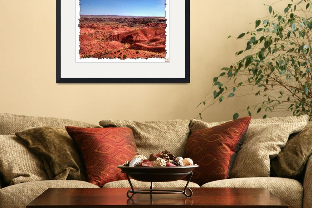 """Painted Desert-Tiponi Point A1 (7851)&quot  (2008) by BKapsStudioAndGallery"