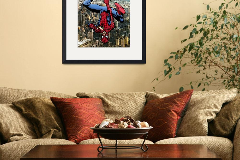 """Spider-Man And His Amazing Sandwich&quot  (2011) by DanAvenell"