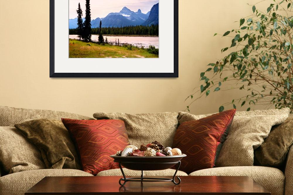 """Canadian Rockies&quot  (2010) by Dullinger"