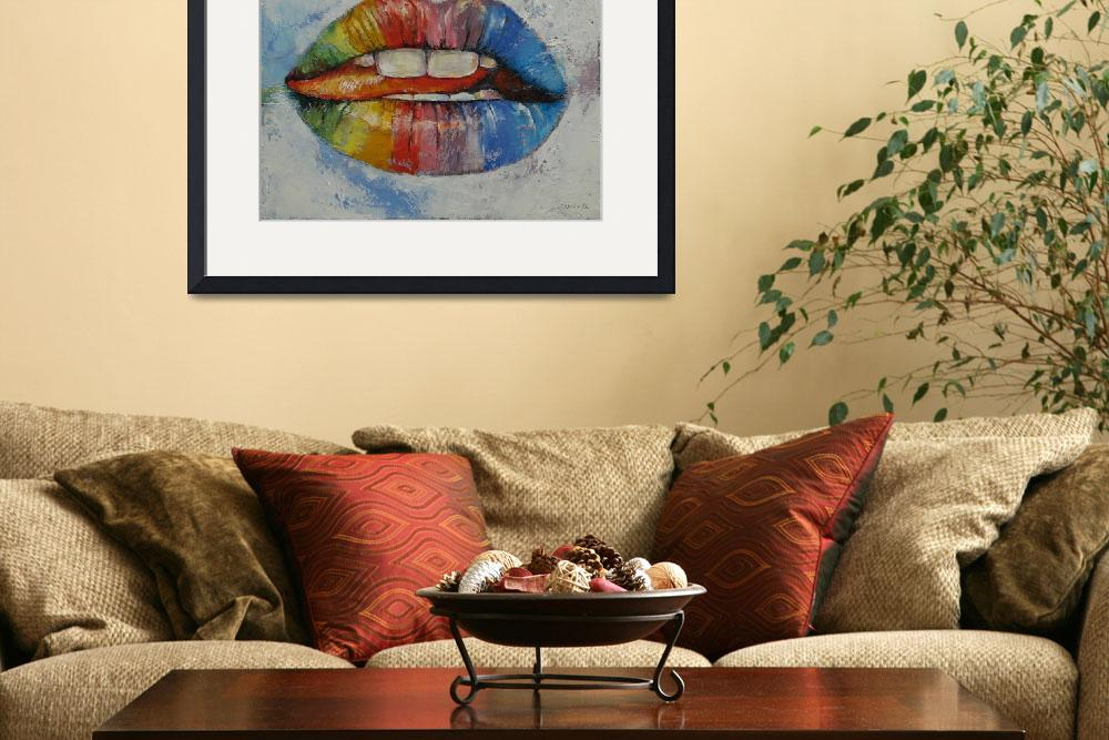 """Lips&quot  by creese"