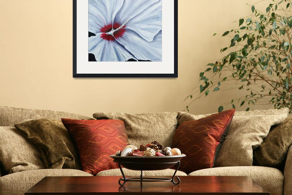 """Hibiscus&quot  (2014) by waynecantrell"